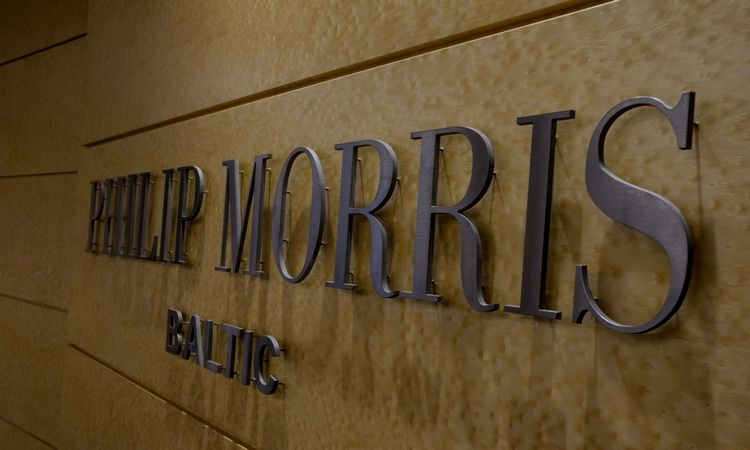 """Prekybos sektoriaus lyderė – """"Philip MorrisBaltic"""""""