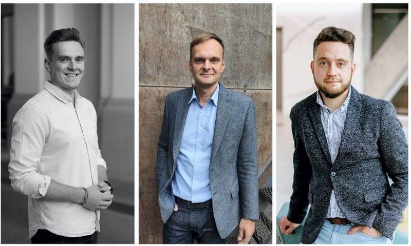 Mangirdas Matusevičius, Andrius Pšemeneckas, Dominykas Maksimavičius.