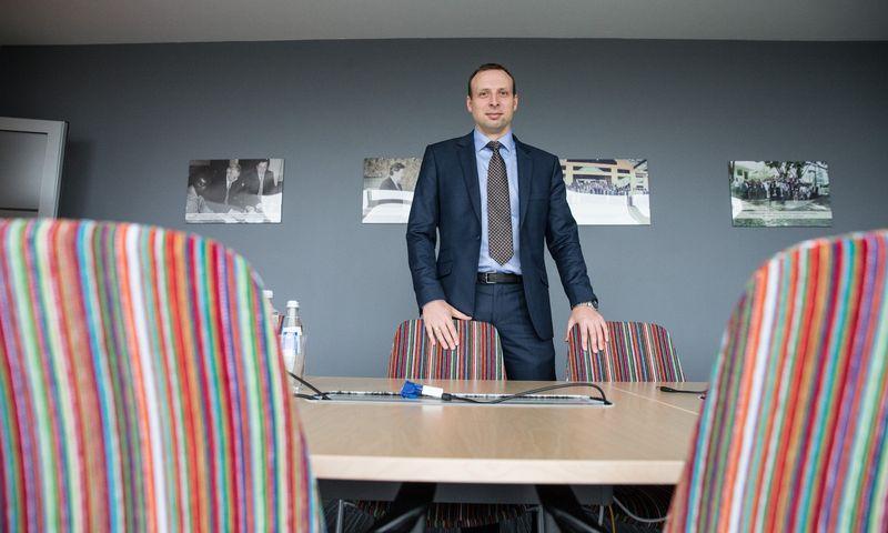 """Dr. Vilius Benetis, kibernetinės saugos UAB """"NRD Cyber Security"""" direktorius. Juditos Grigelytės (VŽ) nuotr."""