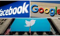 """""""Facebook"""" ir """"Google"""" pratęsė politinės reklamos draudimą"""