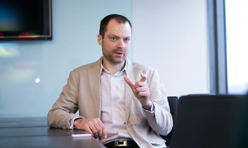 """Rytis Davidovičius, """"Braitin"""" partneris.  Juditos Grigelytės (VŽ) nuotr."""