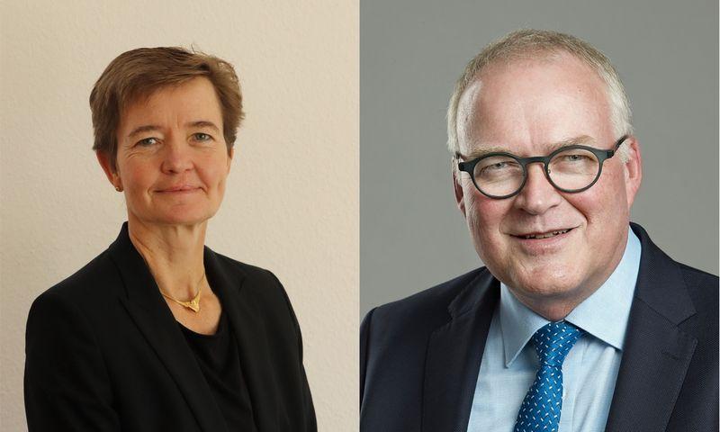 Judith Buss ir Bent Christensen. Įmonės nuotr.