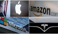 Pandemija augina technologijų kompanijų prekės ženklų vertę