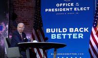 J. Bidenas ragina pasaulio demokratijas susivienyti dėl prekybos politikos