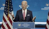 Susitikęs su verslo lyderiais J. Bidenas pasisakė už JAV ekonomikos gaivinimo paketą