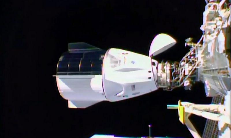 "NASA TV/AFP/""Scanpix"" nuotr."