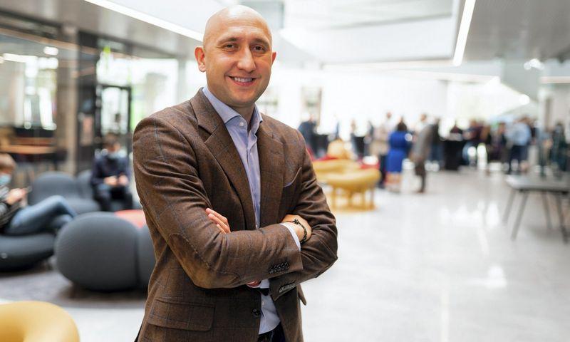 """Telia"""" verslo klientų vadovas Daniel Karpovič."""