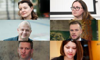 Kandidatų į ministrus biografijos: nuo išsilavinimo iki profesinės patirties