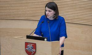 Kandidatė į finansų ministrus G. Skaistė: pirmiausia – biudžeto peržiūra