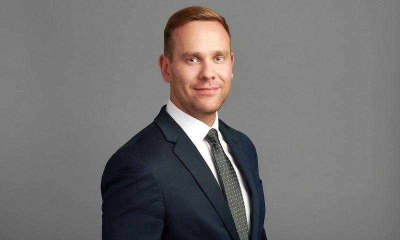 """UAB """"Ignitis"""" Valdybos narys, Verslo klientų ir plėtros tarnybos direktorius Haroldas Nausėda."""