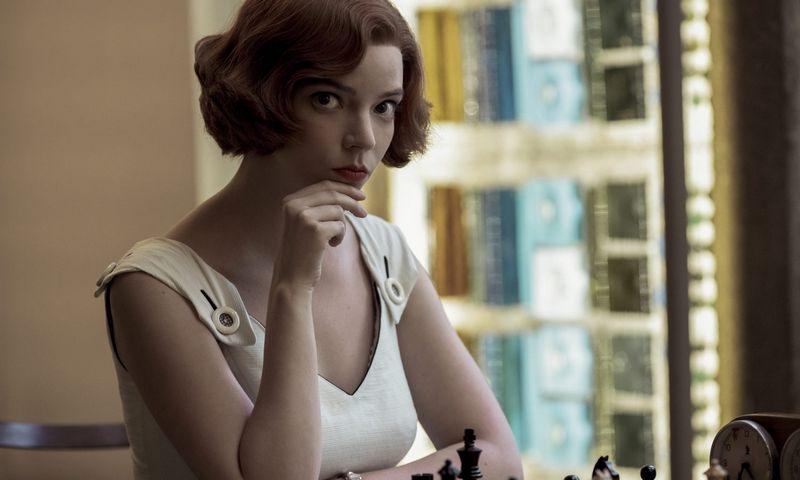 "Anya Taylor-Joy (Betė Harmon) seriale ""Valdovės gambitas"". ""Scanpix"" nuotr."