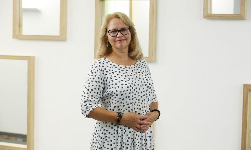 """Virginija Mikutaitė, AB """"Lietuvos draudimas"""" personalo departamento direktorė.Vladimiro Ivanovo (VŽ) nuotr."""