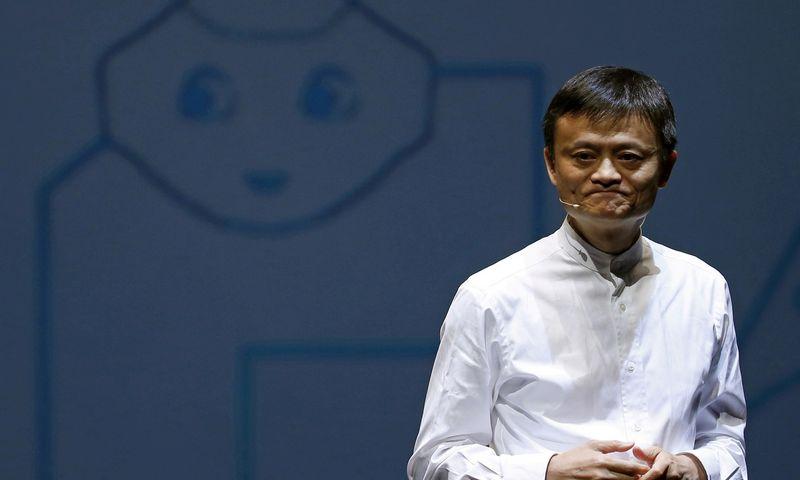 """Jack Ma. Yuya Shino (""""Reuters"""" / """"Scanpix"""") nuotr."""