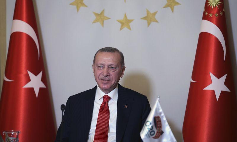 "Turkijos Prezidentūros/AP/""Scanpix"") nuotr."
