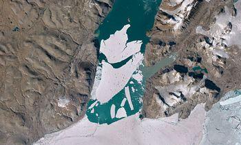 Grenlandija tirpsta sparčiau, nei iki šiol manyta