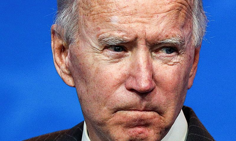 "Išrinktasis Jungtinių Valstijų prezidentas Joe Bidenas (Džo Bidenas). Tom Brenner (""Reuters""/""Scanpix"") nuotr."