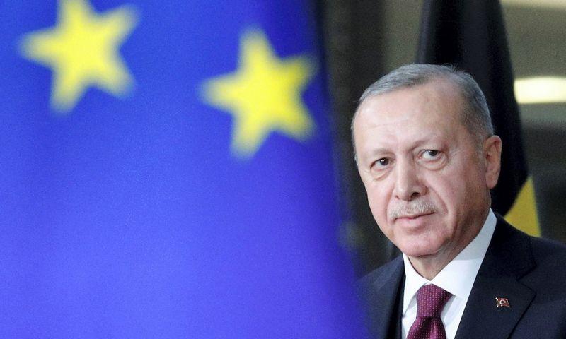"Turkijos prezidentas Recepas Tayyipas Erdoganas. Francois Lenoir (""Reuters""/""Scanpix"") nuotr."