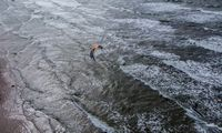 Baltijos jūroje ant seklumos užplaukęs suomių keltas nutemptas, plaukia į uostą