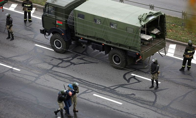 "Minskas, Baltarusija. ""Reuters""/""Stringer""/""Scanpix"" nuotr."