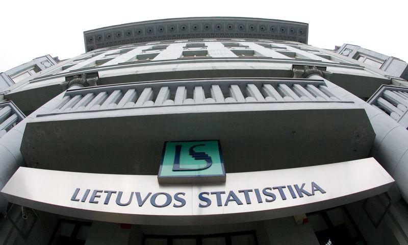 Lietuvos statistikos departamentas Vilniuje, Gedimino prospekte. Vladimiro Ivanovo (VŽ) nuotr.