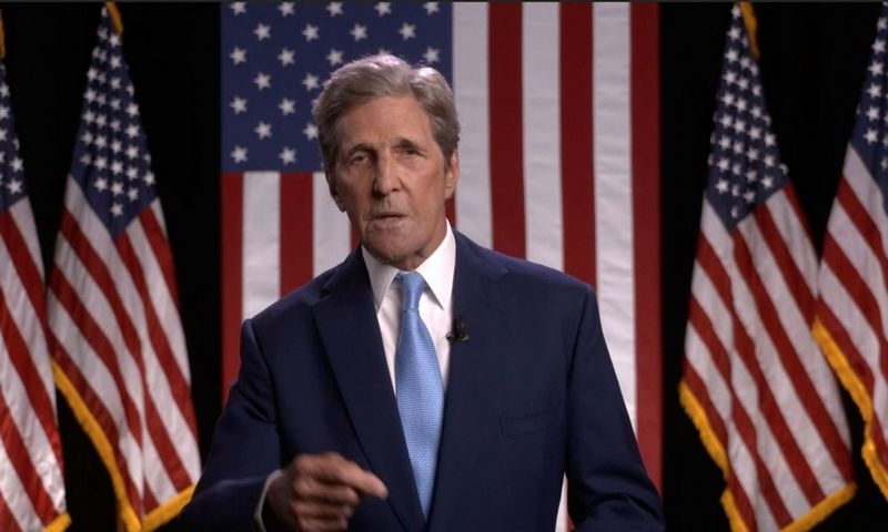 "Johnas Kerry. CNP / ""AdMedia"" / ""Scanpix"" nuotr."