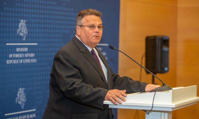 Linas Linkevičius, užsienio reiklaų ministras. Vladimiro Ivanovo (VŽ) nuotr.