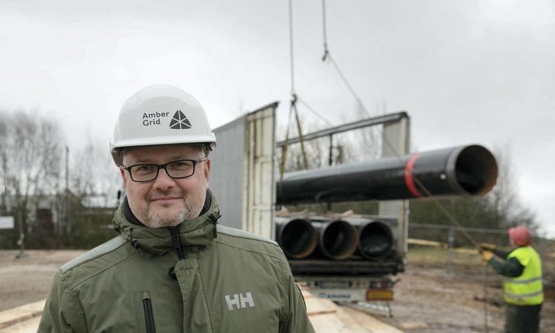"""Nemunas Biknius, Lietuvos dujų sistemos operatorės """"Amber Grid"""" generalinis direktorius."""