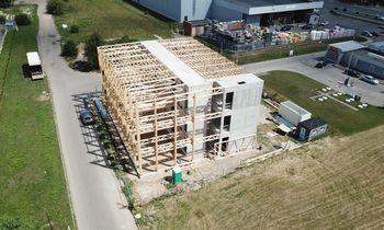 Įdarbinusi medienos pramonę,Lietuva galėtų tapti tvarių statybų epicentru