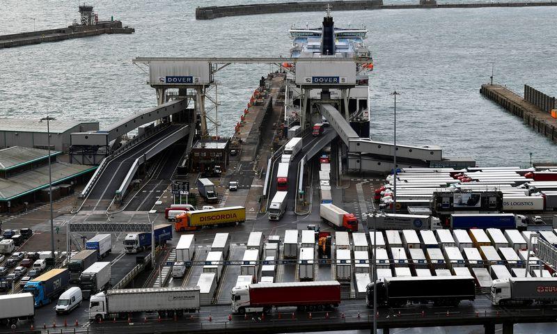 "Doverio uostas. Toby Melville'o (""Reuters"" / ""Scanpix"") nuotr."