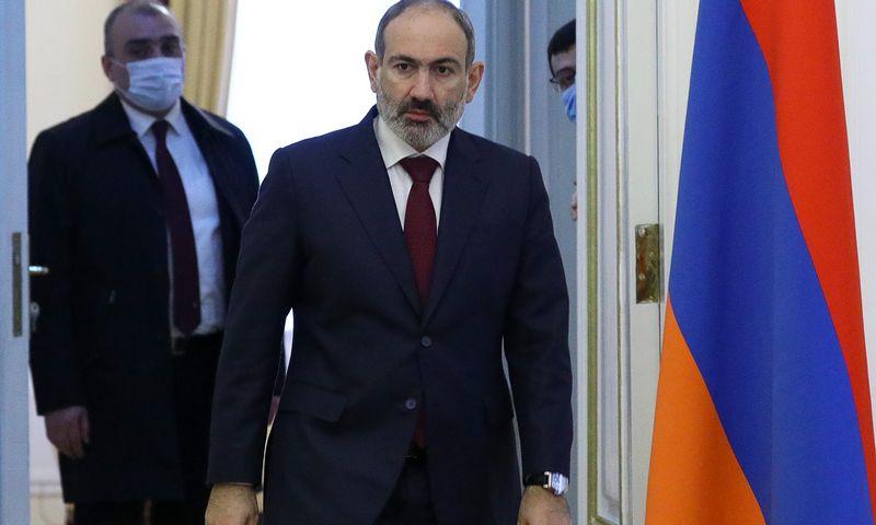 """Nikolas Pašinianas, Armėnijos premjeras. TASS / """"Scanpix"""" nuotr."""