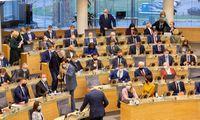 2021-ųjų biudžetą Seimas grąžino naujai Vyriausybei peržiūrėti