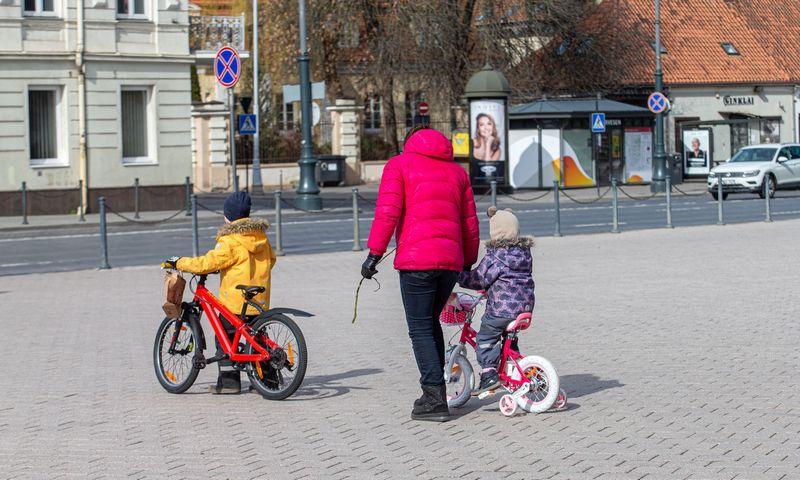 Vilniaus vaizdai kovo 20 d., Lietuvoje karantinas. Juditos Grigelytės (VŽ) nuotr.