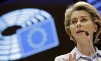 I. Šimonytė pasikalbėjo su EK pirmininke apievakcinų ir ekonomikosproblemas