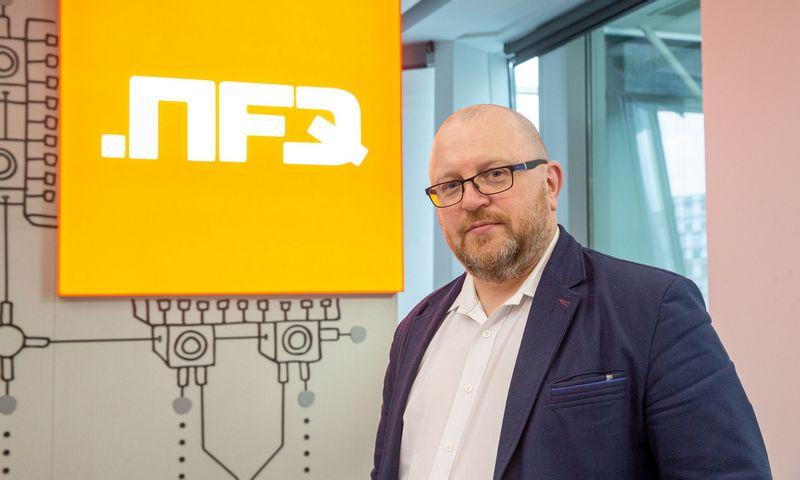 """Jurgis Gylys, elektroninio verslo ir programavimo paslaugų įmonių grupės """"NFQ Technologies"""" verslo skaitmenizavimo vadovas. Juditos Grigelytės (VŽ) nuotr."""