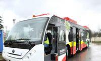 Vilniaus oro uoste– keleivinis BGS elektrobusas