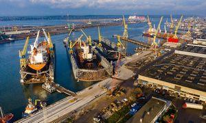 """Antrasis """"Vakarų laivų gamyklos"""" dokas ruošiamas priimti laivus"""