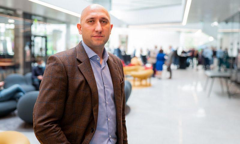 """""""Telia"""" Verslo klientų vadovas Daniel Karpovič."""