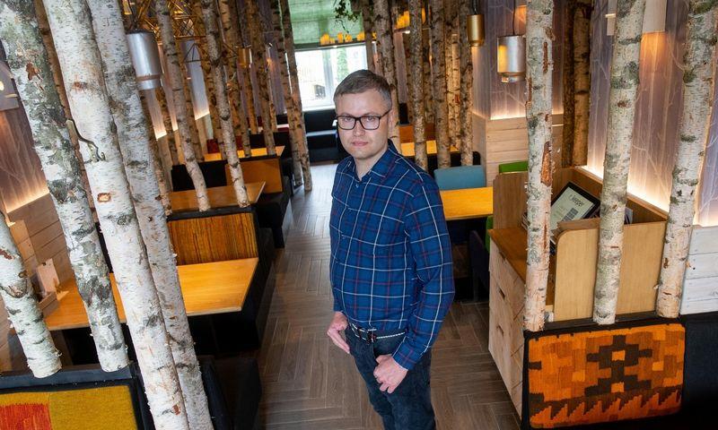 """Gediminas Balnis, """"Amber Food"""" valdybos pirmininkas. Juditos Grigelytės (VŽ) nuotr."""