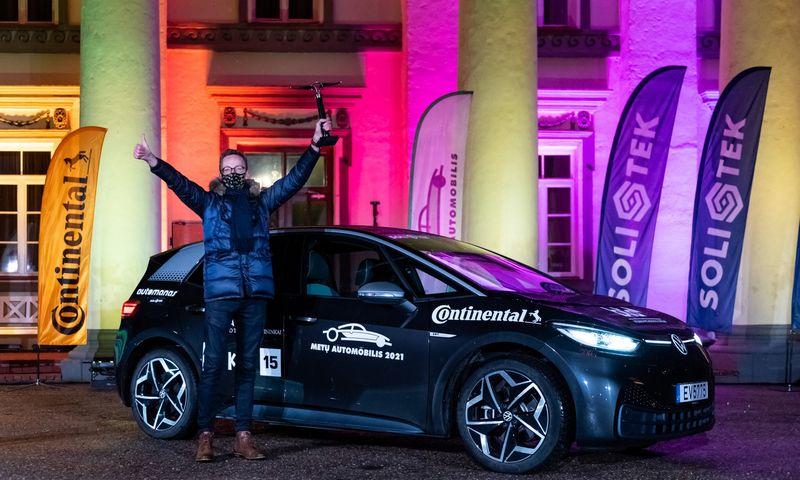 "VW ID.3 - ""Lietuvos metų automobilis 2021"". Vytauto Pilkausko nuotr."