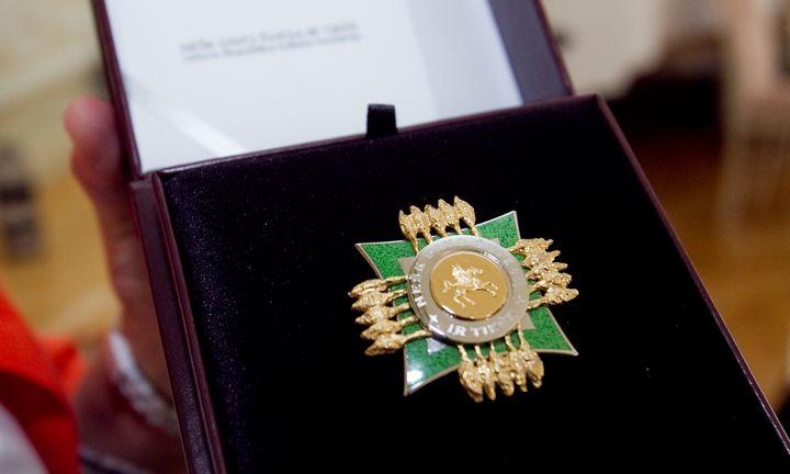 Kultūros ministerija įteikė aukščiausius savo apdovanojimus