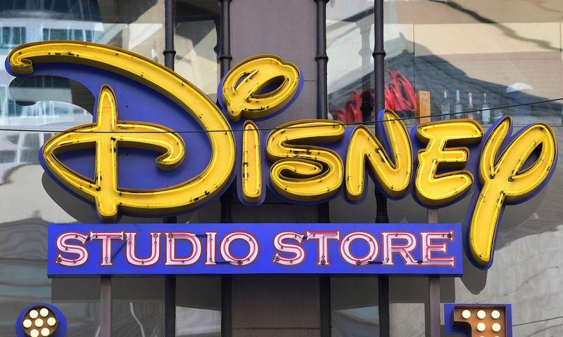 """2021 m. pirmąjį pusmetį """"The Walt Disney Company"""" planuoja atleisti 32.000 darbuotojų. Frederico J. Browno (AFP/""""Scanpix"""") nuotr."""