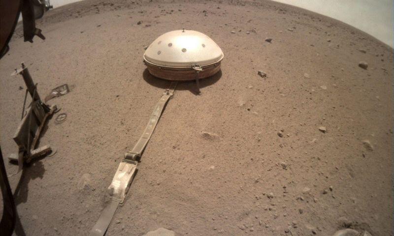Marso paviršius. NASA nuotr.