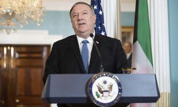 JAV paskelbė sankcijų Kinijos ir Rusijos įmonėms už sandorius su Iranu