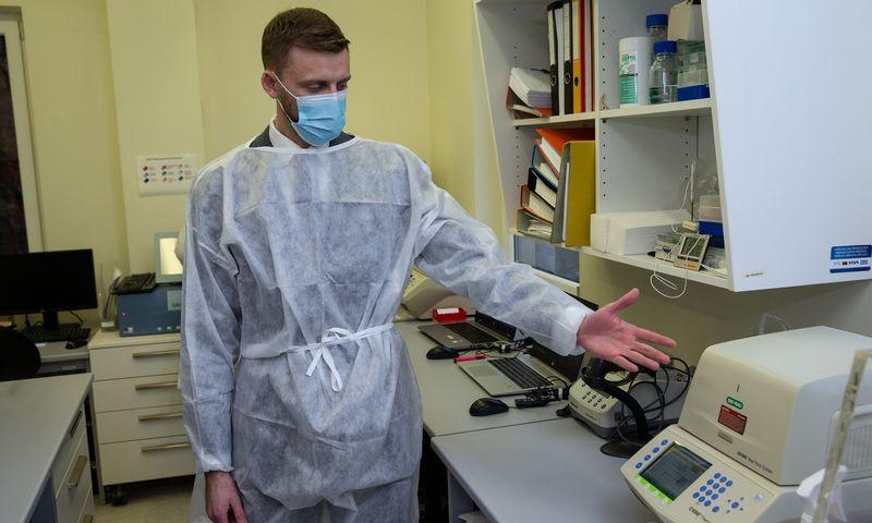 Danas Bakša, Nacionalinės visuomenės sveikatos priežiūros laboratorijos vadovas. Vladimiro Ivanovo (VŽ) nuotr.