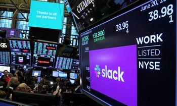 """Šaltiniai: """"Salesforce"""" perka """"Slack'ą"""""""