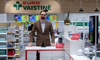 """""""Eurovaistinės"""" valdybos pirmininkas: dažniausiai kaip jaučiasi vaistininkas, taip ir klientai"""