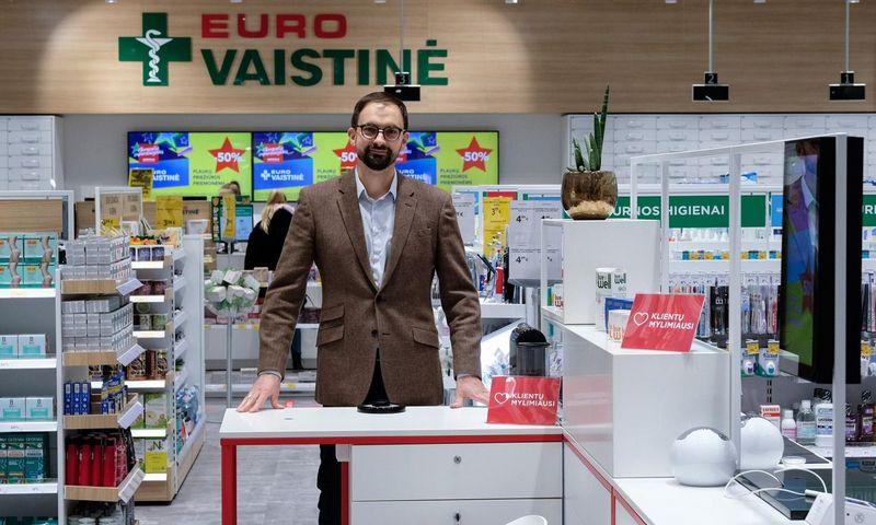 """""""Eurovaistinė"""" valdybos pirmininkas Laimonas Devyžis."""