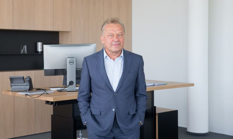 "Rimantas Perveneckas, ""Aprangos"" grupės vadovas. Juditos Grigelytės (VŽ) nuotr."