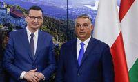 Lenkų ir vengrų premjerai aptarė ES biudžeto vetavimo strategiją