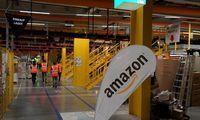 """""""Amazon"""" darbuotojųšventinių premijų fondui skyrė 500 mln. USD"""